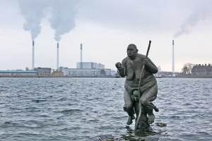 Survival of the fattest im Hafen von Kopenhagen zur Klimaschutzkonferenz Foto: Jesse Walker 2010