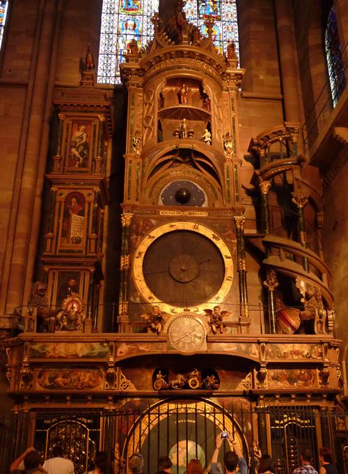 Astronomische Uhr im Straßburger Münster